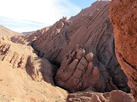 Gorges du Dades, Marokko