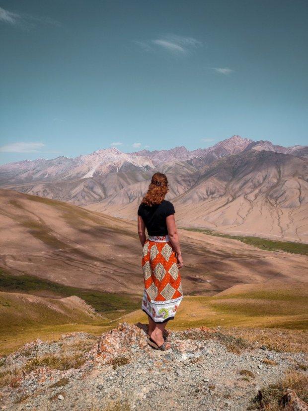 Soloreis door Centraal Azie