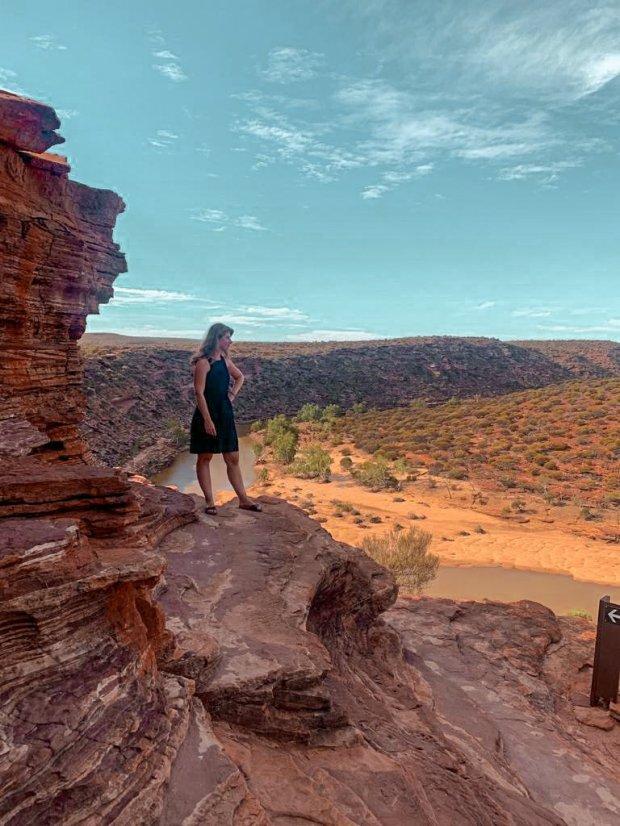 Alleen op reis in de outback