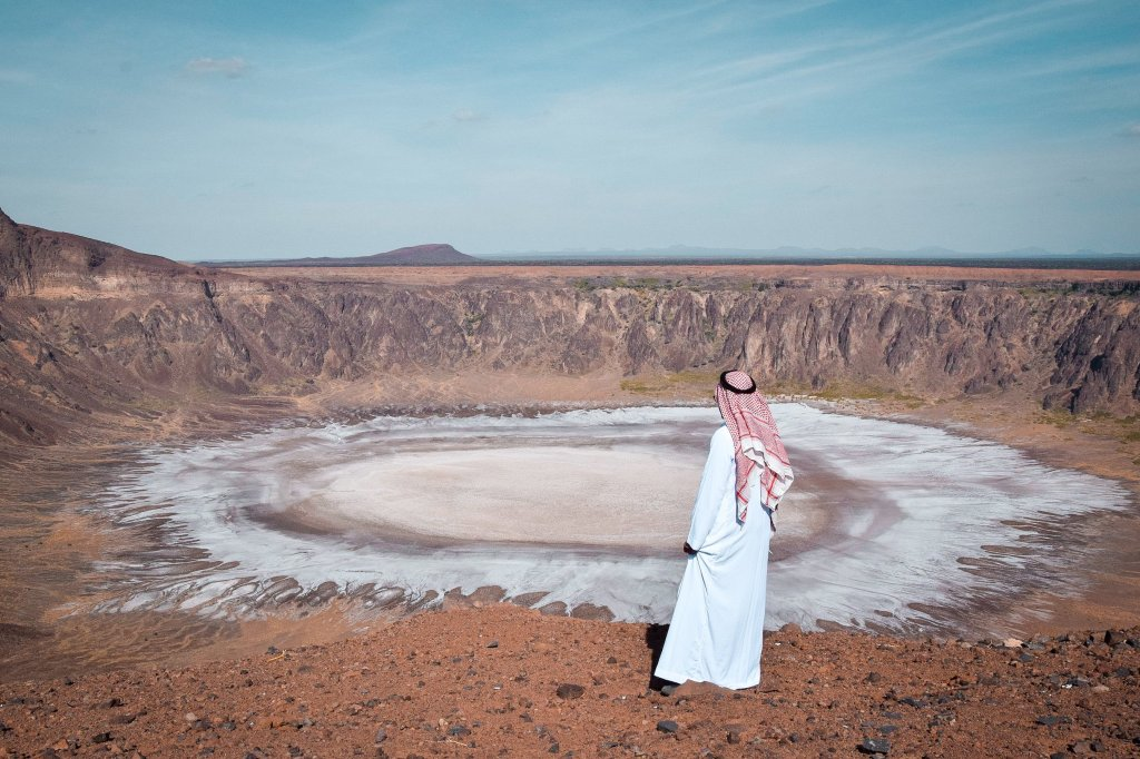 Al Wahbah krater